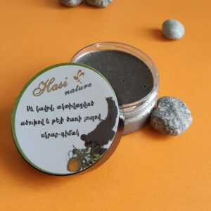 Clay and activated charcoal scrub