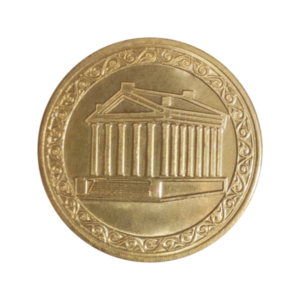 Commemorative medal/coin -TEMPLE OF GARNI