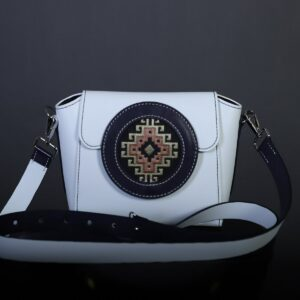 """Bag """"Ayb"""" White and Blue"""