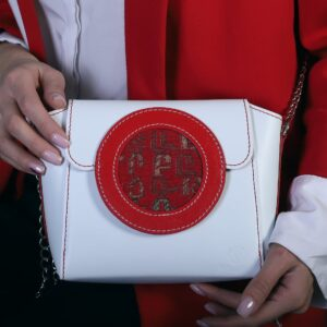 """Bag """"Ayb"""" White and Red"""