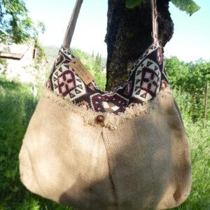 Canvas bag, with Armenian ornament