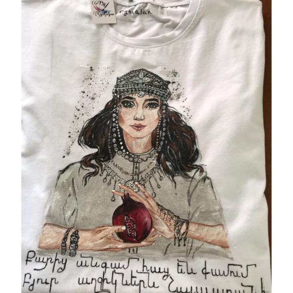 "T-shirt ""Armenian Girl'"