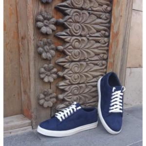 Man's shoes Eco Suede (Blue)