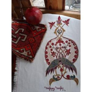Tablecloth - Pomegranate