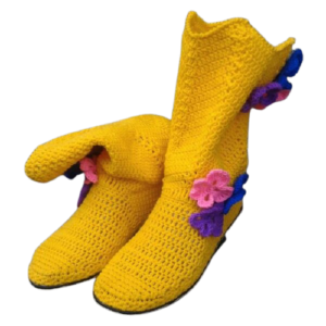 """Shoes """"Sunflower """""""