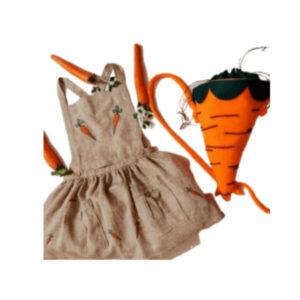 Dress and bag Happy carrots