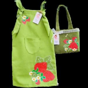Dress & bag ,, Strawberries ,,