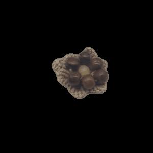 Bohemian Macramé Ring