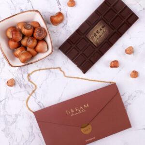 Dark Chocolate with coffee and hazelnuts