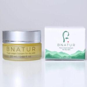 Face cream-balm for dry skin